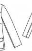 Блейзер вельветовий із шалевим коміром - фото 3
