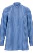 Блуза розкльошена сорочкового крою - фото 2