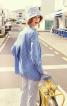 Блуза розкльошена сорочкового крою - фото 1