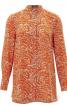 Блуза А-силуэта рубашечного кроя - фото 2