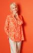 Блуза А-силуэта рубашечного кроя - фото 1