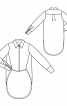 Блузка-«фрак» с удлиненной спинкой - фото 3