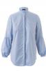 Блузка з оборками і пишними рукавами - фото 2