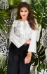 Блузка з воланами на рукавах - фото 1