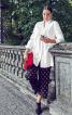Блуза сорочкового крою з потайною застібкою - фото 1
