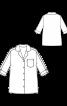 Блуза-сорочка прямого силуету - фото 3