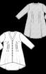Туніка сорочкового крою з защипами - фото 3