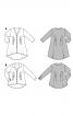 Туніка сорочкового крою з защипами - фото 4