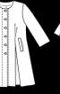Сорочка-жакет приталеного силуету - фото 3