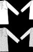 Туніка вільного крою з довгими рукавами - фото 3
