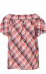 Блуза просторого крою з вирізом кармен - фото 2