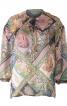 Блуза вільного крою з пишними рукавами - фото 2