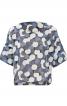 Блуза простора з короткими рукавами - фото 2