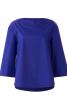 Блуза прямого крою з приспущеними проймами - фото 2