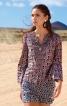 Блуза розкльошена з рукавами-розтрубами - фото 1