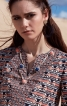 Блуза розкльошена з рукавами-розтрубами - фото 5