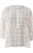 Блуза простора із застібкою поло - фото 2