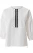 Блуза простора з видовженою спинкою - фото 2