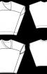 Блузка-топ із батисту з аплікаціями - фото 3