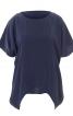 Блуза з видовженими боковими частинами - фото 2