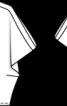 Блуза з проймами у плечових швах - фото 3