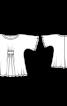 Туніка двошарова просторого крою - фото 3