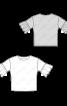 Блуза з широкими оборками на рукавах - фото 3
