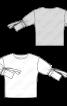 Блуза просторого силуету із зав'язками на рукавах - фото 3