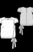 Блузка шовкова з ефектом запаху - фото 3