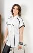 Блузка з рельєфними швами - фото 1
