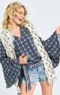 Блузка прямого крою в стилі хіпі - фото 1