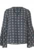 Блузка прямого крою в стилі хіпі - фото 2