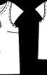 Блуза лляна прямого крою з бантом - фото 3