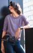 Блузка з видовженою спинкою - фото 1