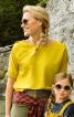 Блузка з асиметричним низом - фото 1