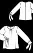 Блузка шовкова просторого крою - фото 3