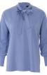 Блуза із застібкою поло на спинці - фото 2