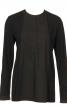 Блуза із довгою застібкою поло - фото 2