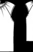 Блузка двошарова з короткими рукавами реглан - фото 3