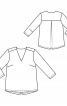 Блуза з креп-сатину - фото 3