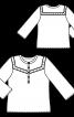 Блуза в ковбойському стилі - фото 3