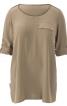 Блуза просторого крою з погонами - фото 2