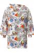 Блуза просторого крою з широким коміром - фото 2
