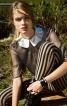 Блуза з відкладним коміром - фото 1