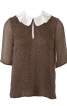 Блуза з відкладним коміром - фото 2