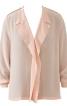 Блуза з лацканами, що драпіруються - фото 2