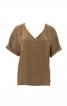 Блузка з V-подібним вирізом горловини - фото 2