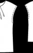Блузка прямого крою - фото 3