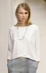 Лаконічна блуза з ефектом запаху - фото 1