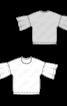 Пуловер простого крою з широкими оборками - фото 3